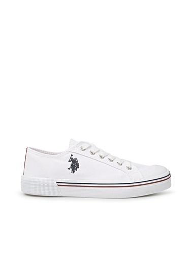 U.S. Polo Assn. Çocuk Ayakkabı Penelope 100910628 Beyaz